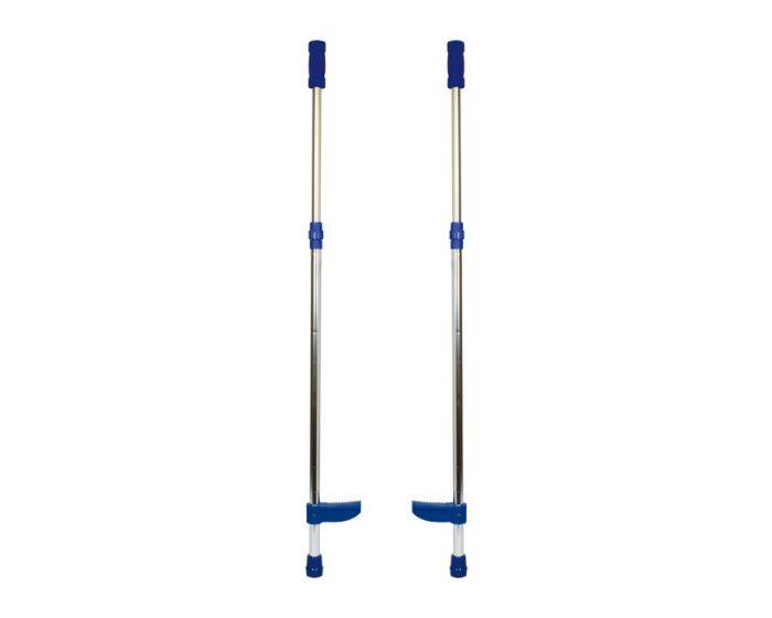 Stylter, højdejusterbar i aluminium