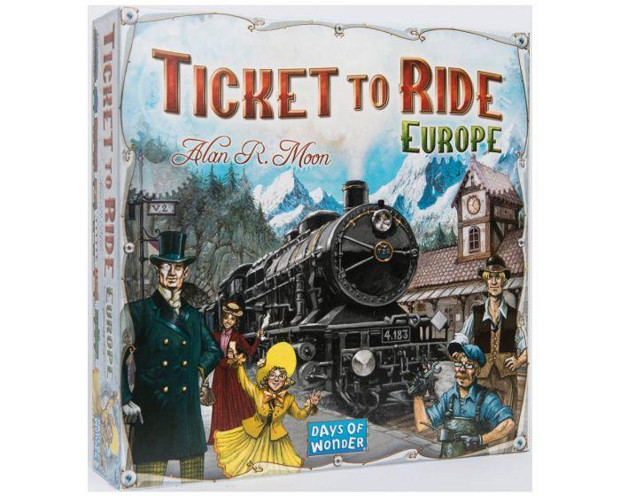 Ticket To Ride Europa  - Sjovt familie spil