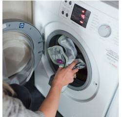 Sådan vasker du tidy tot forklæde